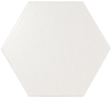 22357 Scale Porcelanico White Matt 11,6x10,1