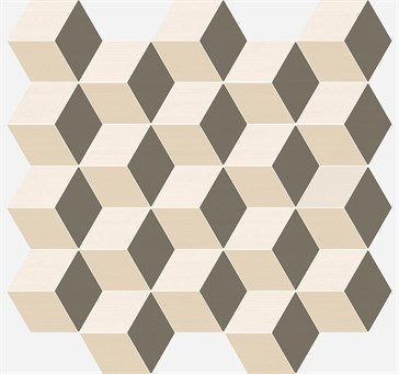 Element Mosaico Cube Warm Моз. Куб Ворм 30,5x33