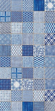 Maioliche di Sant'Antonio Blue 15x15