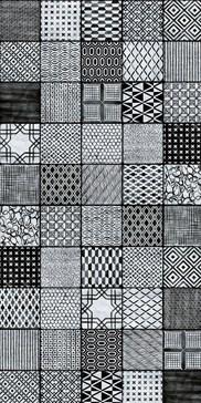 Maioliche di Sant'Antonio Black 15x15