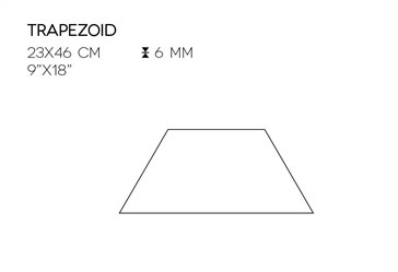 XTRA362X6 Powder Trapezoid 23x46