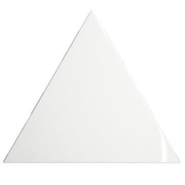 218236 Triangle Layer White Glossy 15x17