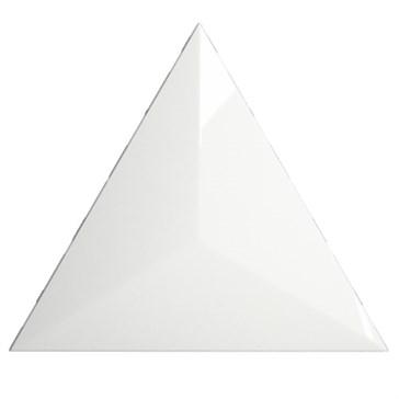 218240 Traingle Level White Glossy 15x17