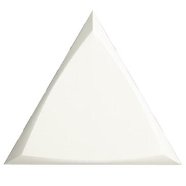 218249 Triangle Channel White Matt 15x17