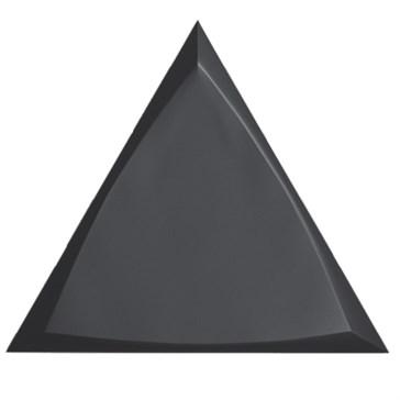 218250 Traingle Channel Black Matt 15x17