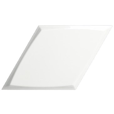 218267 Diamond Zoom White Glossy 15x25,9