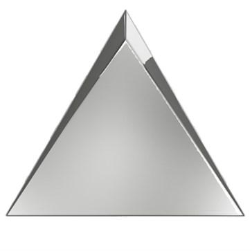 C218366 Traingle Cascade Silver Glossy 15x17