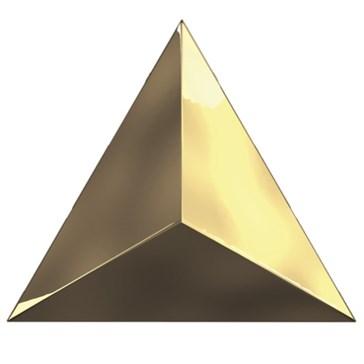 C218359 Traingle Level Gold Glossy 15x17