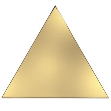 218356 Traingle Layer Gold Glossy 15x17