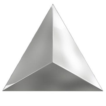 218360 Traingle Level Silver Glossy 15x17