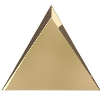 218365 Traingle Cascade Gold Glossy 15x17