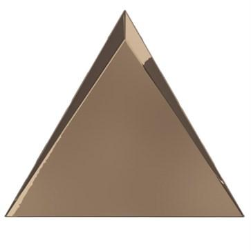 218367 Traingle Cascade Copper Glossy 15x17