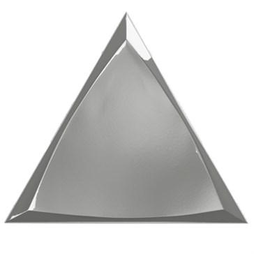 218369 Traingle Channel Silver Glossy 15x17