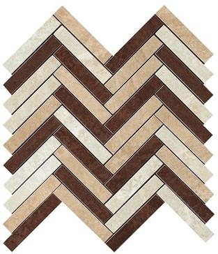 Blend Herringbone Mosaic / Бленд Мозаика 29,8x29,3