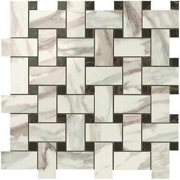 Calacatta Gold Twist Mosaic / Калакатта Голд Мозаика Твист 30,5x30,5