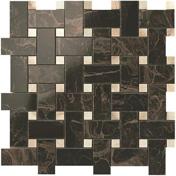 Frappuccino Dark Twist Mosaic / Фраппучино Дарк Мозаика Твист 30,5x30,5