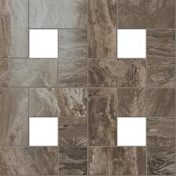 Woodstone Taupe Mosaic Lap / Вудстоун Таупе Мозаика Лап. 45x45