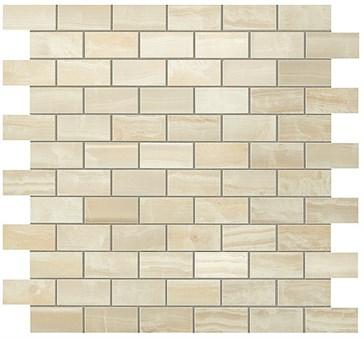 Ivory Chiffon Brick Mosaic / Айвори Шиффон Брик Мозаика 30,5x30,5