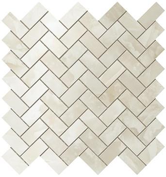 Persian Jade Herringbone Mosaic / Персиан Жаде Хэрринбоун Мозаика 30,5x30,5