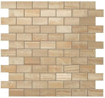 Royal Gold Brick Mosaic / Роял Голд Брик Мозаика 30,5x30,5