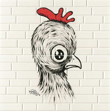 CHICK RED 2 30x60