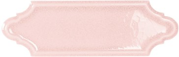 Mecox Pink Crackled 5x15