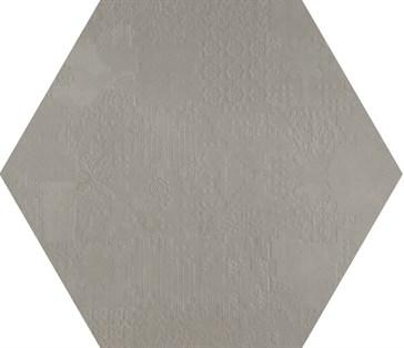 Dechirer Esagona Decor Grigio 120x120