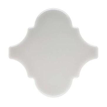 ADNE8113 Arabesco Liso Silver Mist 15x15