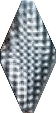 ADNE8124 Rombo Acolchado Micro Platino 10x20