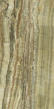 UO6L37558 Green Onyx Vein Cut 37,5x75 LS