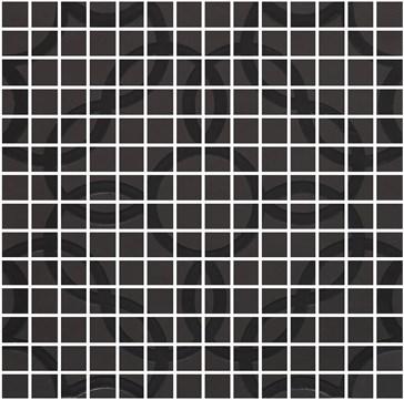 Tactile Carbone Mosaico Deco 40x40