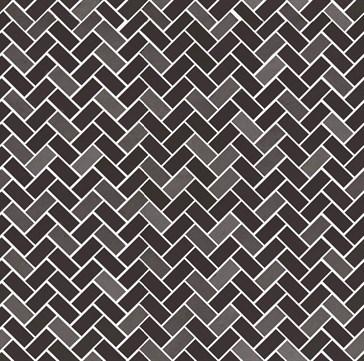 Tactile Mosaico Bone Carbone 40x40