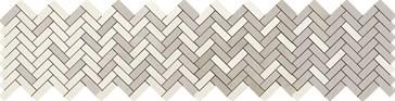 Terracruda Mosaico Degrade Calce Luce 33,2x128,8