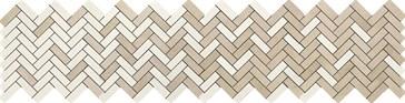 Terracruda Mosaico Degrade Luce Sabbia 33,2x128,8