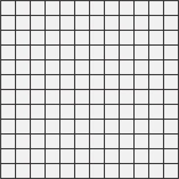 Resina Bianco Mosaico 40x40