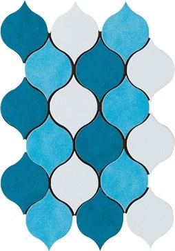 Mos. Goccia Mix Azzurro 21,3x31,9