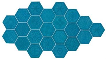 Esag. Archivio Mix Azzurro Mare 25,4x29,4