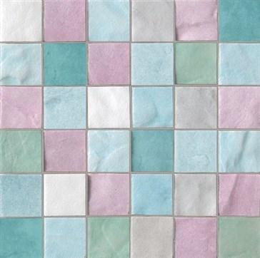 Mos. Trasparenze Mix Multicolor 20x20