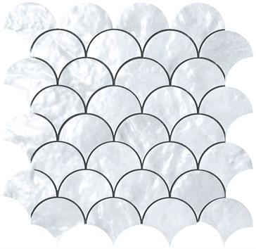 Mos. Trasparenze Ventaglio Perla 26x26,5