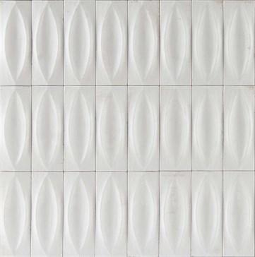 Gleeze Bianco Struttura Eye Glossy 7,5x20