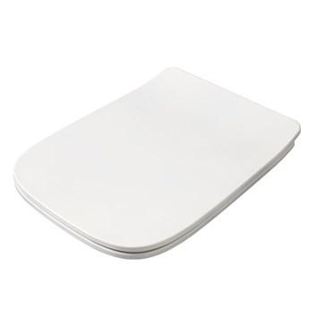 Artceram A16 крышка с сиденьем Slim для унитаза, мех.Soft-Close, Cromo\Bianco Matt