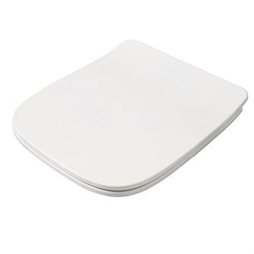 Artceram A16 Сиденье с крышкой Mini для унитаза, мех.Soft-Close, Cromo\Bianco Matt