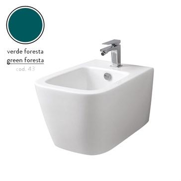 Artceram A16 биде подвесное 36x52, 1 отв., Verde Foresta