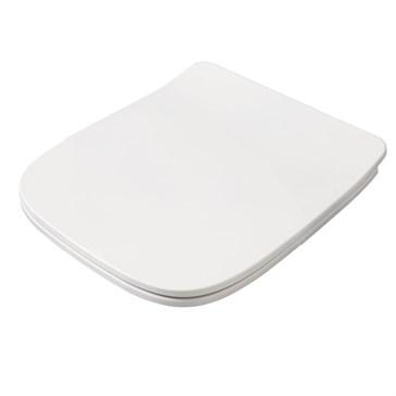 Artceram A16 крышка с сиденьем Mini для унитаза, мех.Soft-Close, Cromo\Bianco Lucido
