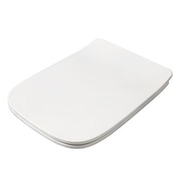 Artceram A16 крышка с сиденьем Slim для унитаза, мех.Soft-Close, Cromo\Bianco Lucido