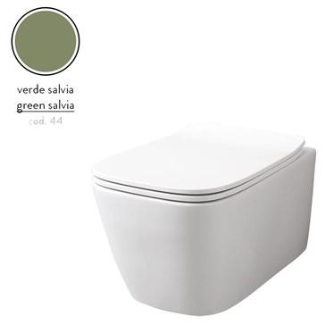 Artceram A16 унитаз подвесной безободковый 36x52, Verde Salvia