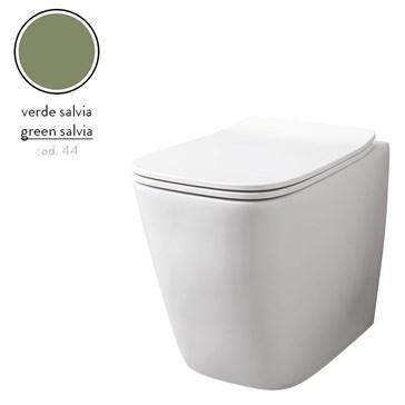 Artceram A16 унитаз напольный безободковый 36x52, Verde Salvia